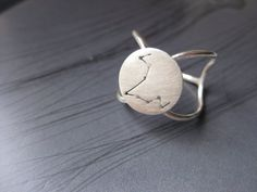 Pisces Zodiac Constellation Sterling Silver Ring by jesikajack, $75.00