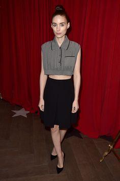 AFI Awards. Rooney Mara in Nicholas Kirkwood