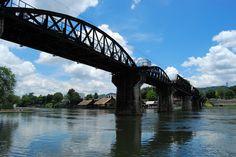 Kanchanaburi, Thailand aka The Bridge on the River Kwai