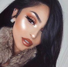 Gorgeous Makeup: Tips and Tricks With Eye Makeup and Eyeshadow – Makeup Design Ideas Makeup On Fleek, Flawless Makeup, Glam Makeup, Gorgeous Makeup, Pretty Makeup, Love Makeup, Makeup Inspo, Makeup Inspiration, Makeup Looks