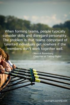 Team and personality