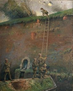George Edmund Butler, Capture of the walls of Le Quesnoy, 1918