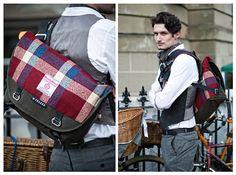 Trakke Mule bag in Harris Tweed