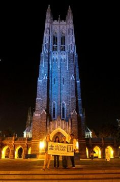 Gallery | Light It Up Blue | Autism Speaks Duke University Chapel -  Durham, North Carolina