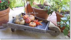 Wood Craft Ideas | the wooden wheelbarrow is an easy decorative wood craft project that ...