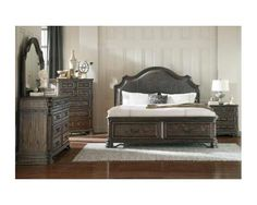 Eastern King Storage Bed (vintage Espresso)