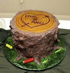 Cute grooms cake