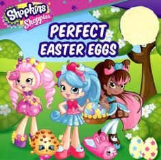 Shopkins: Shoppies: Perfect Easter Eggs (19) Easter Books, Easter Eggs, Holiday Parties, Holiday Fun, Shopkins Characters, Too Many Cooks, Shopkins And Shoppies, Cowgirl Costume, Jokes And Riddles