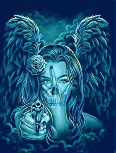 Skullnique/Skull products for skull lovers Chicano Tattoos, Body Art Tattoos, Sleeve Tattoos, Cool Tattoos, Arte Cholo, Tattoo Drawings, Art Drawings, Prison Drawings, Aztecas Art