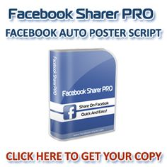 Do you want to schedule your posts on Facebook and put your campaigns on auto-pilot? Enough with manual posting on multiple Facebook groups or fan pages!  With Facebook Sharer PRO you can promote your product or services to thousands of customers!