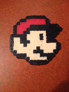 Mario Perler Bead on Etsy, $3.00