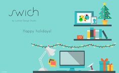 Recharge the batteries for Christmas and become #wireless in 2015!  Happy holidays to everyone by Swich  #wicharger #qi #Christmas #NY2015 #greetings