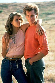 Kevin Bacon as Ren and Lori Singer as Ariel in the original Footloose (1984).