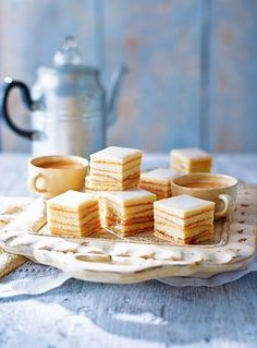 Luxembourg's popular 'tree-cake' recipe has been simplified to bring you a moist, apricot layer cake. A superb addition to afternoon tea.