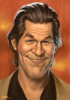 [ Jeff Bridges ] - artist: Euan Mactavish - website: http://paper-pencil-pixels.blogspot.com/