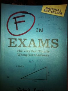 Book: F in Exams - I laughed so hard I was in tears!