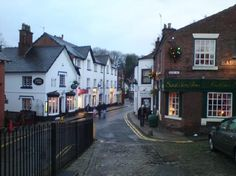 Lymm village where my grandma has lived all her life. Such a beautiful place.