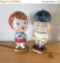 Bobblehead van een kussen jongen en meisje door BlkBttrflyDsgns