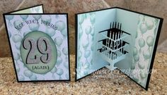 Number of Years, Large Number & Ovals Collection Framelits, Birthday Bouquet DSP, Silver Glimmer Paper, Party Pop-up Thinlits - February Frenchie's Customer Appreciation Box and card