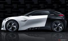 Peugeot Fractal Concept Unveiled Ahead of Frankfurt Debut