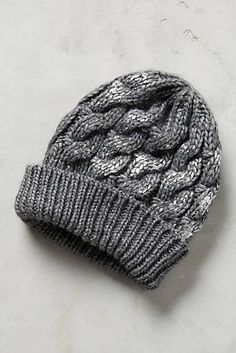 Glinted Cables Beanie