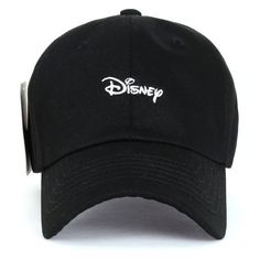 770d24a8019 Disney Cotton Embroidered Mickey Mouse Adjustable Curved Hat Baseball ❤  liked on Polyvore featuring accessories
