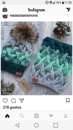 Photo from album «Simply Knitting 2018 Cable Knitting, Baby Hats Knitting, Knitting For Kids, Knitting Stitches, Free Knitting, Knitting Projects, Crochet Projects, Knitted Hats, Crochet Camera