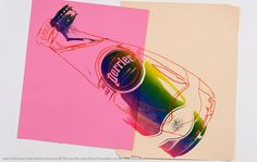 Perrier Limited Edition: Andy Warhol  - The Dieline -