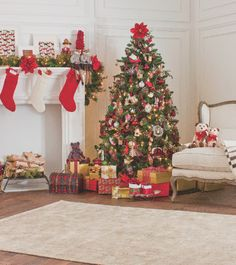Stockings are hung by the chimney with care! #LTholidays #holidays #christmas #christmastree #decorations #stockings #presents