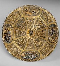 Gold shield, Italy, ca 1560