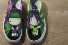 charla vail art hand painted on vans