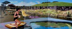 "Saatchi Online Artist Geoffrey Greene; Painting, ""Cornucopia Californica"" #art"