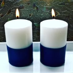 Pillar Candles, December, Candles