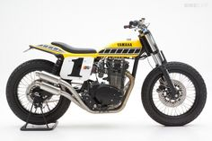 im a tracker slut these days... - Yamaha XS650 dirt tracker by Jeff Palhegyi Design