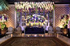 At-home Wedding Reception of Aliyah Wedding Reception At Home, Wedding Stage, Home Wedding, Wedding Events, Wedding Bells, Simple Wedding Decorations, Backdrop Decorations, Simple Weddings, Backdrops