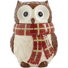 Chilly Billy Owl Cookie Jar