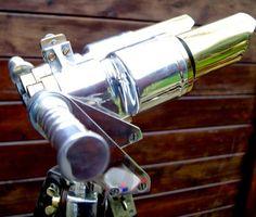 Professionally Polished binoculars tripod 4 x 24 MARINE 1951 HUET