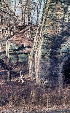 Clinton Furnace | Travel | Vacation Ideas | Road Trip | Places to Visit | West Milford | NJ | Offbeat Attraction | Historic Site | Military Site | Abandoned Place