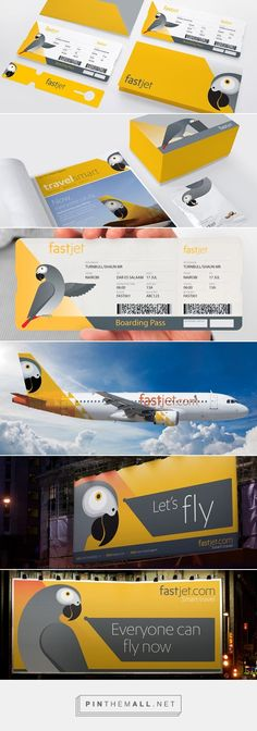FastJet - Airline Brand Identity by SomeOne