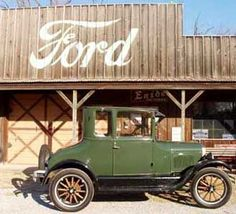 Throwin' it WAY back to this 1927 Coupe!  #Ford #TBT