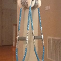 Duct tape to decorate crutches