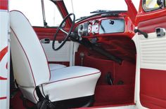 white beetle with red interior - - Yahoo Image Search Results