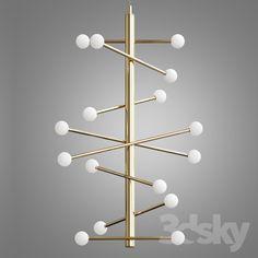 Hol Pendant Light, Brass