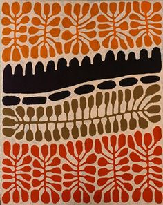 Australia (Aboriginal) - List All Works Indigenous Australian Art, Indigenous Art, Tribal Patterns, Print Patterns, Abstract Pattern, Pattern Art, Aboriginal Painting, African Textiles, Tribal Art