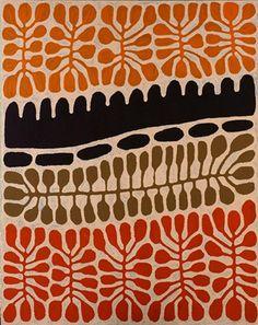Australia (Aboriginal) - List All Works Tribal Patterns, Textile Patterns, Textile Art, Print Patterns, Aboriginal Patterns, Indigenous Australian Art, Indigenous Art, Aboriginal Painting, Dot Painting