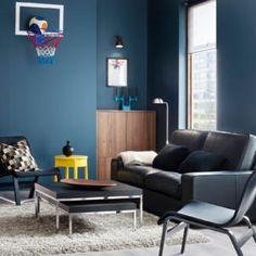 Petrol: Der Trend für Deine Wand. Setzte mit dem Blau-grün Ton genau ...