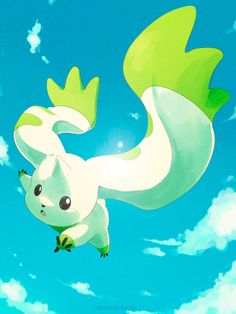 lizkagene:  Digimon - Fly! Terriermon by melomeiro