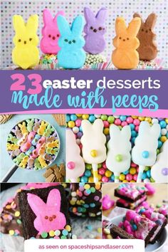 23 Easter Desserts w