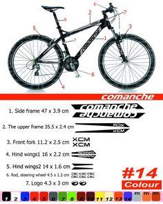 CUBE Vinyl Decals Autocollants Cadre de Vélo Cycle Cyclisme Vélo MTB Route
