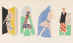 Research Volunteer Laura Beltran-Rubio highlights examples of Art Deco textile and fashion designs featured in French illustrated pattern books from The Met collection.